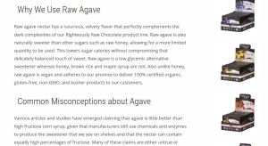 Righteously Raw agave
