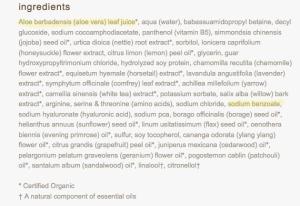 food babe sodium benzoate vitamin C