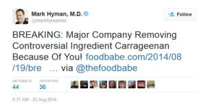 carrageenan mark hyman