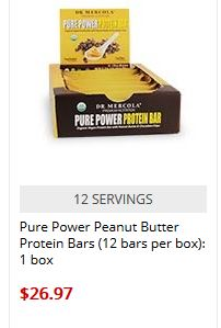 mercola protein bars