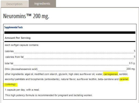 neuromins ingredients