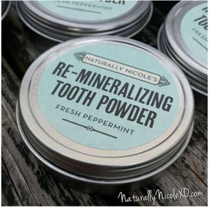 naturally nicole tooth powder open sky