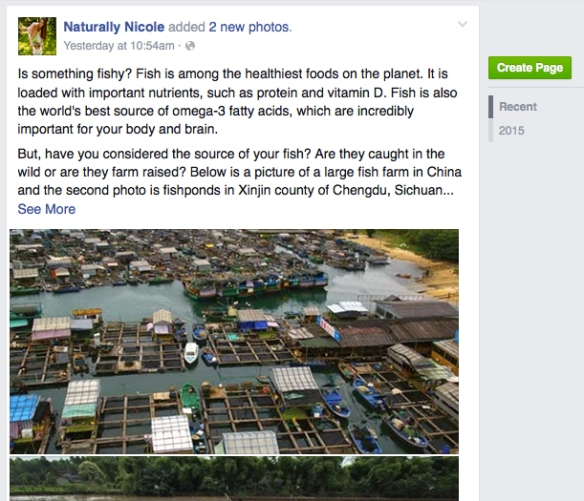 Naturally Nicole fish farming