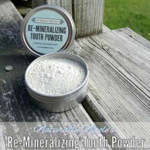 naturally nicole's tooth powder is loaded with aluminum