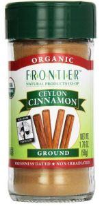 vani hari frontier organics cinnamon (caffeic acid)
