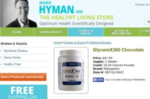 dr mark hyman nutritional shake
