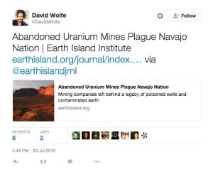 david wolfe twitter uranium