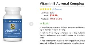 dr axe vitamin b