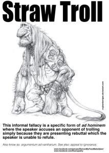 straw troll