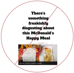 mcdonald's happy meal debunked