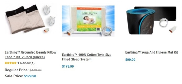 David Wolfe earthing products
