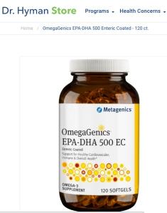 omegagenics mark hyman parabens