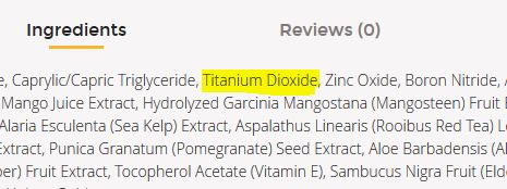 ingredients closeup thrivemarket titanium dioxde