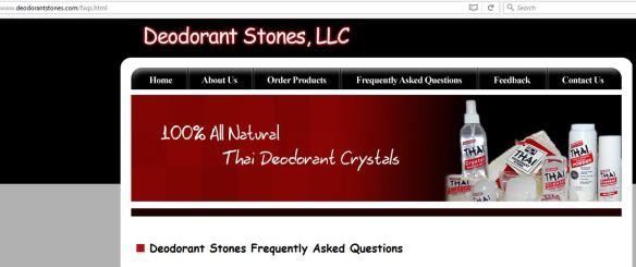 deodorant stones of america aluminum