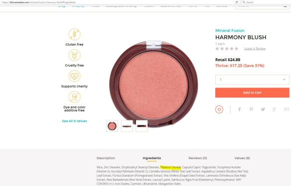 harmony blush on thrivemarket