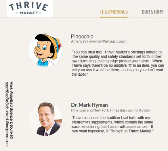thrive market deodorant meme by mark alsip