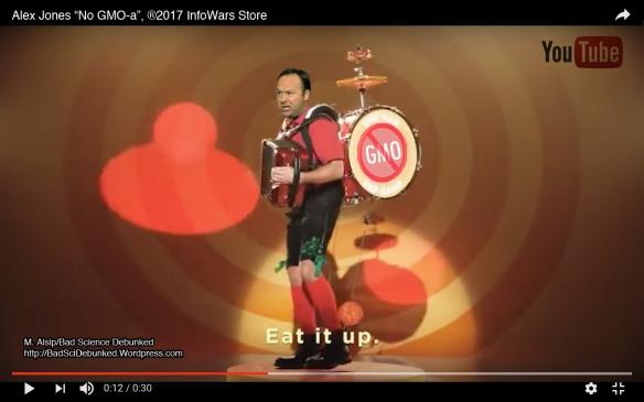Alex Jones pep band parody by Bad Science Debunked