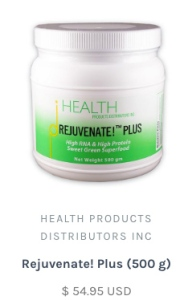 Rejuvenate Plus, from the Health Ranger store