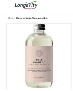 David Wolfe's Longevity Warehouse Amla Chelating Shampoo